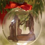 3 inch glass ornament